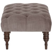 30-4RGLSMK Regal Smoke Tufted Ottoman