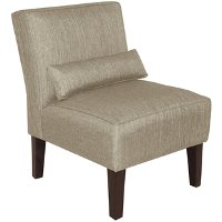5705GRPPWT Groupie Pewter Armless Chair