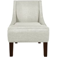 72-1GRPOST Groupie Oyster Swoop Arm Chair