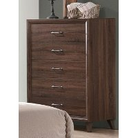 Brown Modern Contemporary Chest of Drawers - Darryl