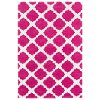 5 x 7 Medium Pink & Ivory Area Rug - Lily & Liam