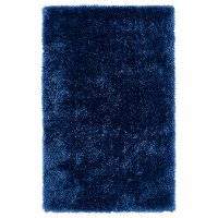5 x 7 Medium Denim Blue Shag Rug - Posh