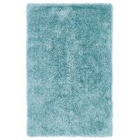 5 x 7 Medium Light Blue Shag Rug - Posh