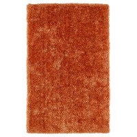 5 x 7 Medium Orange Shag Rug - Posh