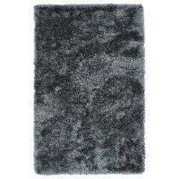 3 x 5 Small Gray Shag Rug - Posh