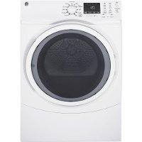GFD45ESSKWW GE 7.5 cu. ft. Capacity Electric Dryer - White