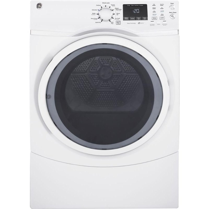 GE Electric Dryer - 7.5 cu. ft. White