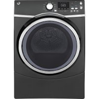 GFD45GSPKDG GE 7.5 Cu. Ft. Front Load Gas Dryer with Steam - Gray