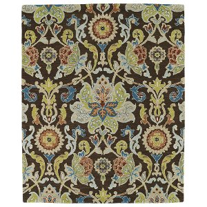 10u0027 square chocolate brown area rug taj
