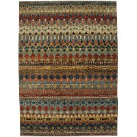 5 x 8 Medium Saigon Multi-Colored Area Rug - Enigma