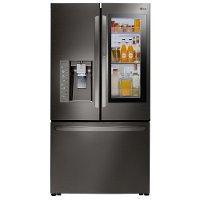 LFXC24796D LG 36 Inch InstaView™ French Door Refrigerator Counter-Depth - Black Stainless Steel