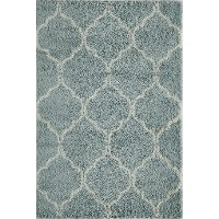 5 x 8 Medium Transitional Blue Rug - Maya