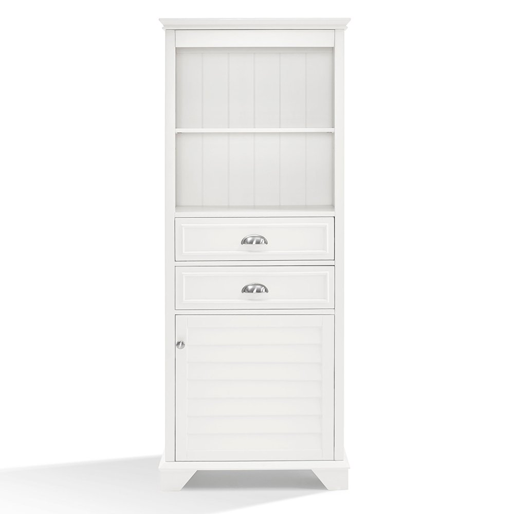 Tall White Bathroom Cabinet - Lydia | RC Willey Furniture Store
