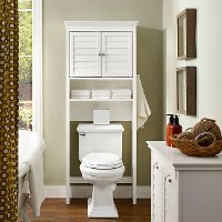 CF7002-WH White Space Saver Bathroom Shelf - Lydia