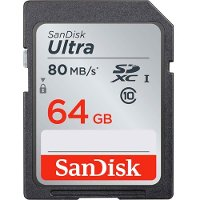 SDSDUNC-064G-AN6IN SanDisk 64GB Ultra SDXC Memory Card