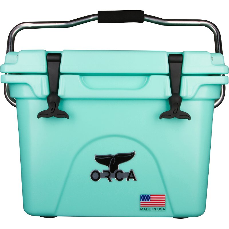 20 quart orca seafoam green cooler rcwilley image1~800
