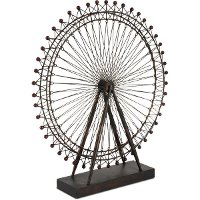 Metal London Eye Model Sculpture