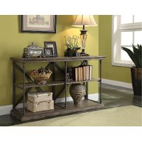 60 Inch Rustic Hylas Medium Brown TV Stand - Corbin