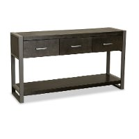 60 Inch Charcoal Modern TV Stand - Mar Vista