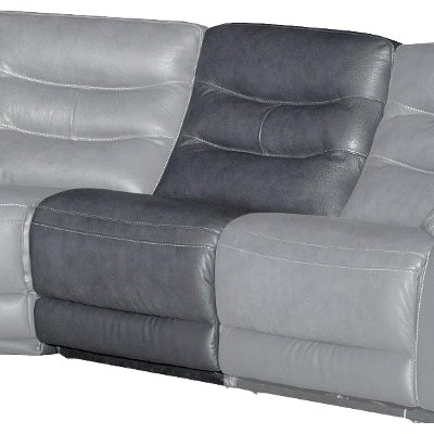 Charcoal Gray Armless Chair - Shawn