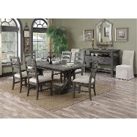 Charcoal 5 Piece Dining Set - Paladin