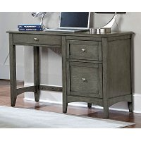 Gray Casual Classic Writing Desk - Garcia