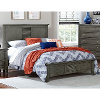 Gray Casual Classic Full Bed - Garcia