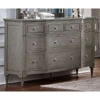 Gray Classic Traditional Dresser - Albright