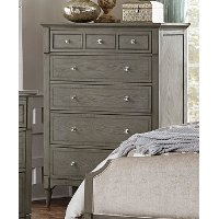 Gray Classic Traditional Chest of Drawers - Albright