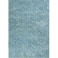 5 x 7 Medium Seafoam Blue & Ivory Area Rug - Bliss