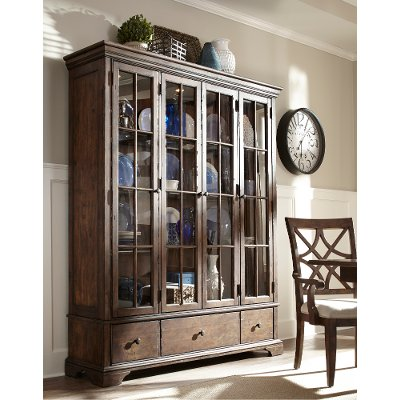 Curio Display Cabinets Dining Room Furniture