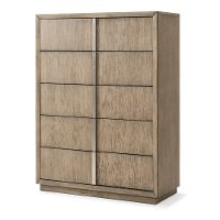 Modern Driftwood Gray Chest of Drawers - Melbourne