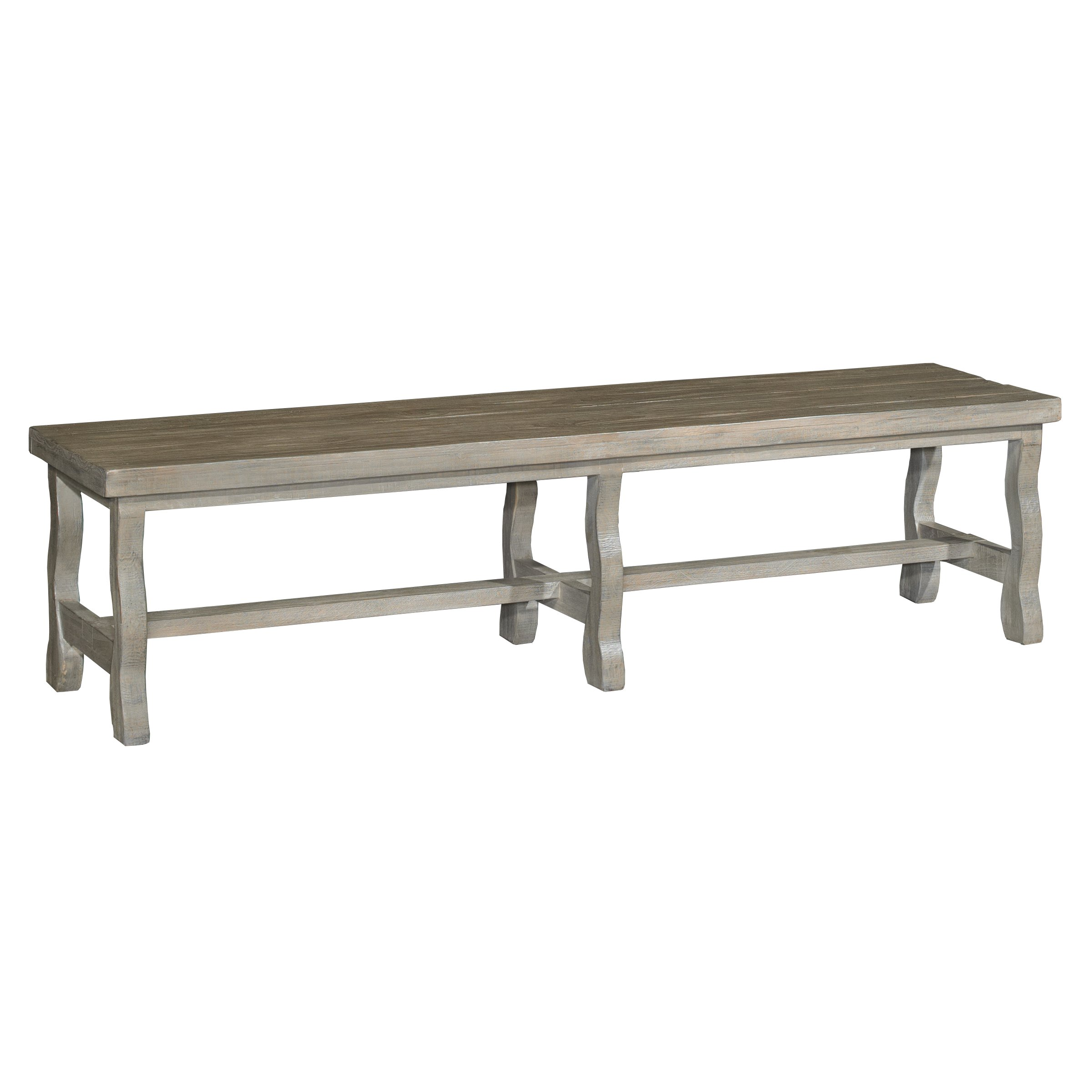 Barn Washed Dining Bench Willow Creek Collection
