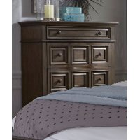 Classic Brown Chest of Drawers - Lucca