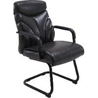 Ember Black Guest Chair