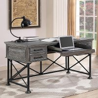 Burnished Ash Writing Desk - Gramercy Park
