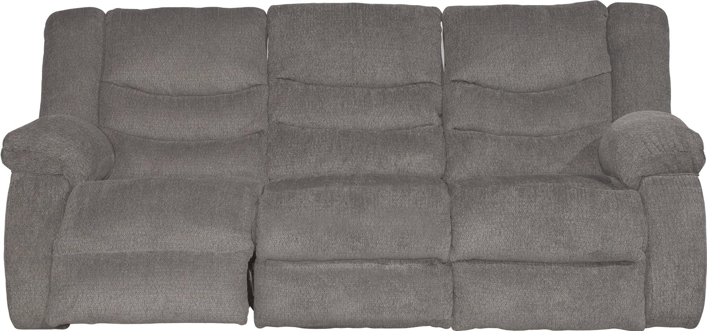 Gray Dual Reclining Sofa & Loveseat Tulen
