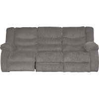 Gray Dual Reclining Sofa - Tulen