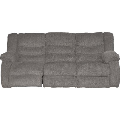 Gray Dual Reclining Sofa - Tulen  sc 1 st  RC Willey : dual reclining sofa - islam-shia.org