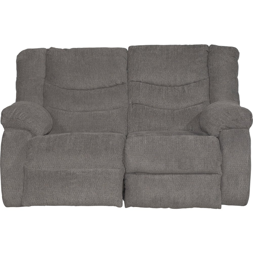 Gray Dual Reclining Sofa & Loveseat- Tulen | RC Willey Furniture Store