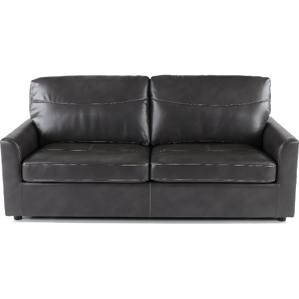 Charcoal Gray Queen Sofa Bed   Slumber