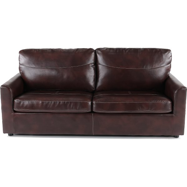 Coffee Brown Queen Sofa Bed Slumber
