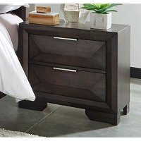 Cappuccino Brown Contemporary Nightstand - Newland