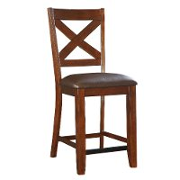 Burnished Brown 24 Counter Stool - Omaha Collection