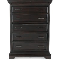 Classic Traditional Brown Chest of Drawers - Caldwell