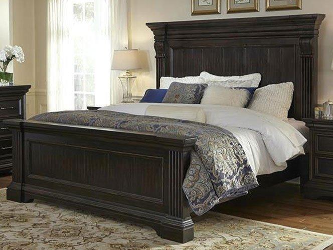 Molasses Classic Traditional 6 Piece Queen Bedroom Set
