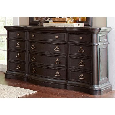 Dark Oak Traditional Dresser - Ravena