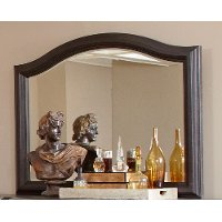 Dark Oak Traditional Mirror - Ravena