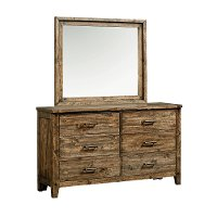 Rustic Casual Pine Dresser - Nelson