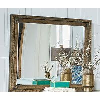 Rustic Casual Pine Mirror - Nelson